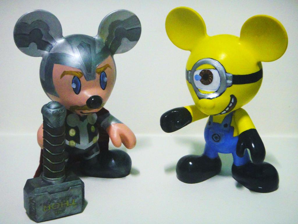 Minion Thor Thor And Minion by Monty107
