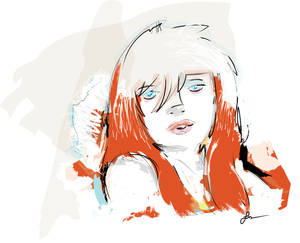 Little Red Paint-Sketch