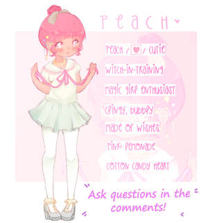Q and A  Ask Witch!Peach questions!