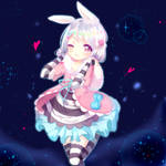 Dreamy Bunny of the Night