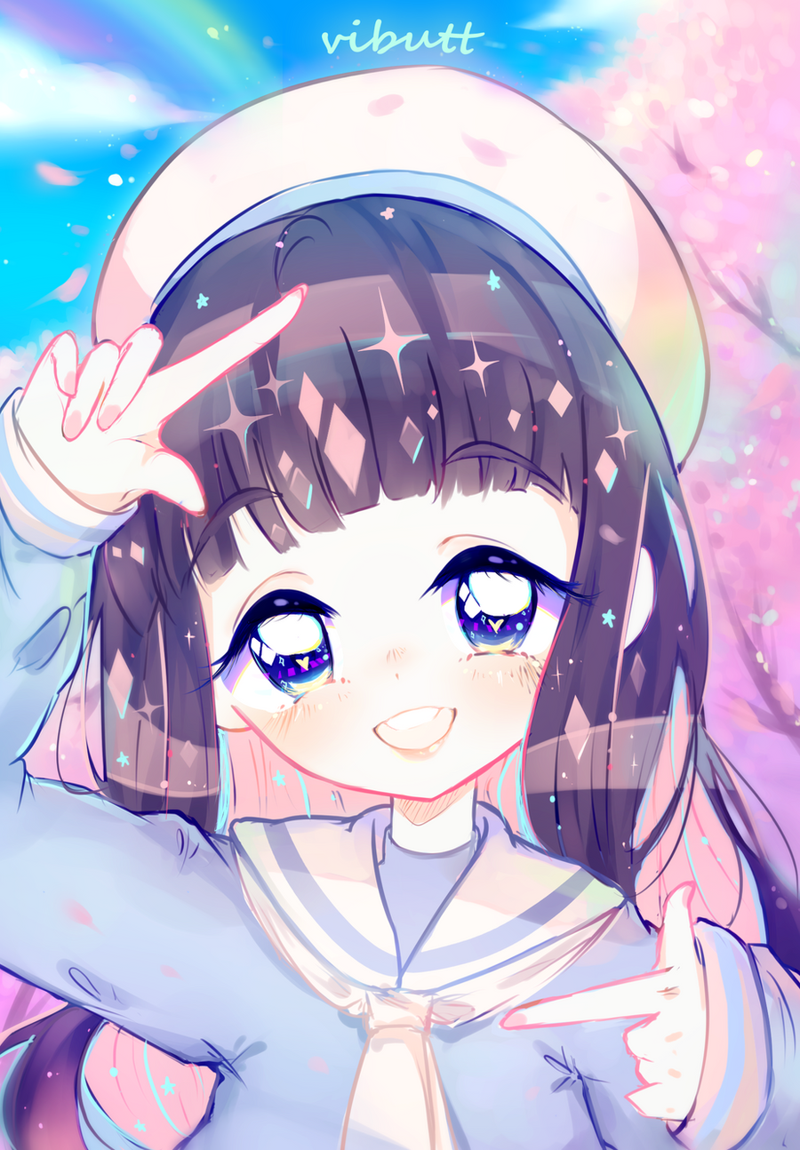 Your smile is my happiness | Tomoyo, CCS by ViPOP on ...