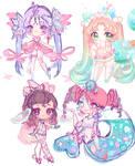 Fairy Vial Sketches!!