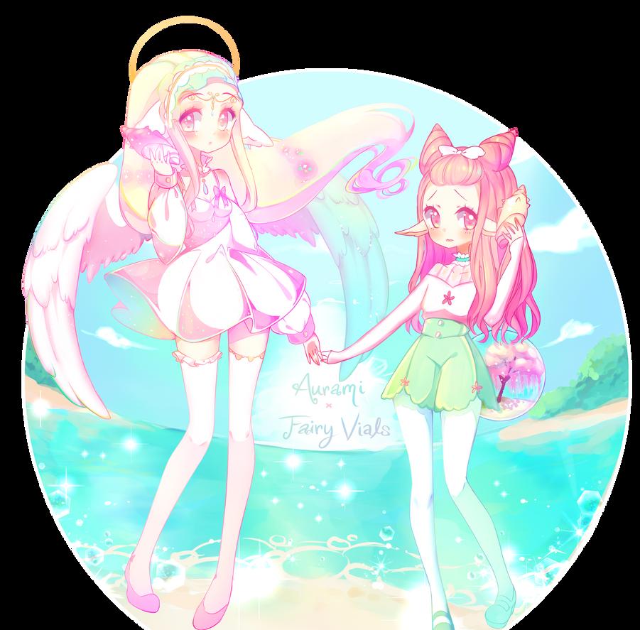 [Raffle/Contest] Aurami x Fairy Vial! by ViPOP