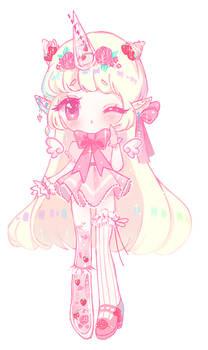 Strawberry Milkshake Unicorn | Fairy Vial