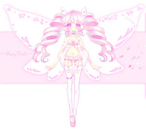 Bridal Fairy Vial: Butterfly Lingerie by ViPOP
