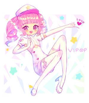 [+Speedpaint] Popo Peachie! by ViPOP