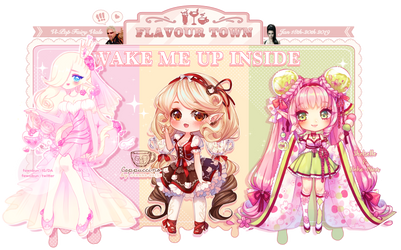 [CLOSED] WAKE ME UP FlavourTown | Fairy Vials by ViPOP