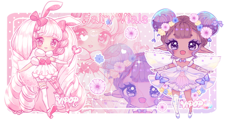 Fluff Fairies | Fairy Vials by ViPOP
