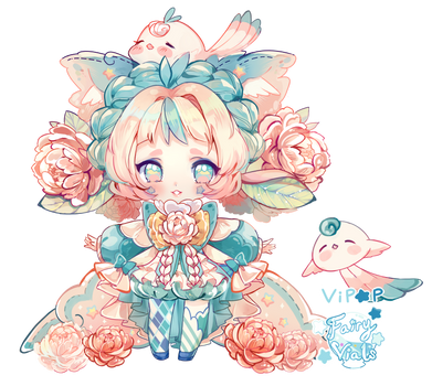 Plushie Peony | Fairy Vials