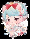 Snow Angel   Fairy Vials