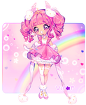 Sparkle Peach! | Redraw