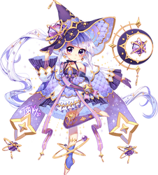 Starry Witch | Fairy Vials