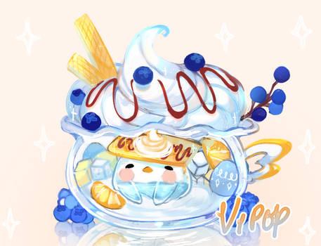 Breakfast Bluebirdy