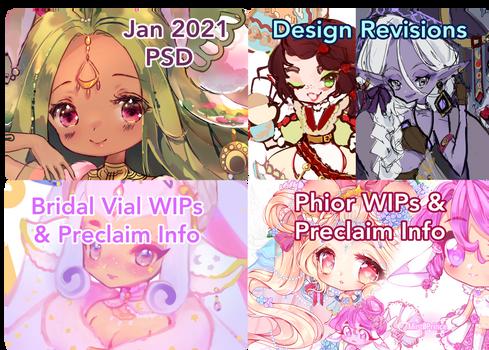 Jan 2021 Patreon rewards