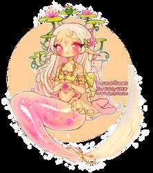 Lotus at Sunset   Fairy Vials