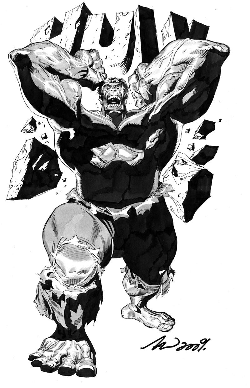 The Hulk by arttan