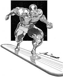 Silver surfer by arttan