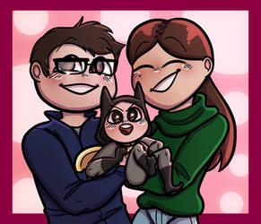 My family by @klarakawaiipotato