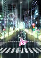 In the Rain by Katarina-Kirishiki