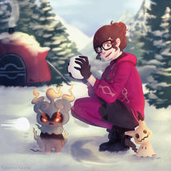 [Fanart] Fun in the Snow