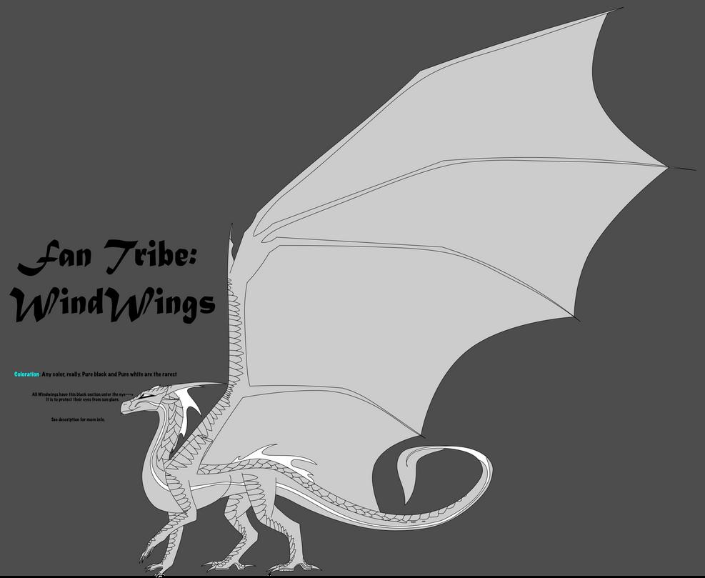 Fantribe WindWings OLD By Silverstormwing On DeviantArt