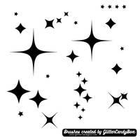 GCB Star Brushes 2 - Sparkles by glittercandybox