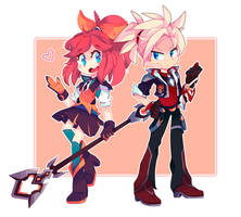 Ezreal and Lux