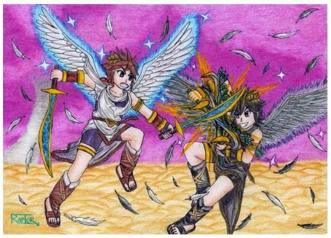 Dark Pit Kid Icarus Uprising Related Keywords And Tags