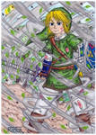 Link,the warrior of the wind -The legend of Zelda-