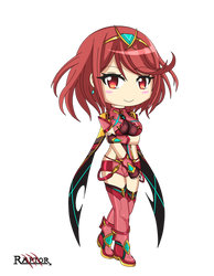 Pyra Chibi - Xenoblade Chronicles 2