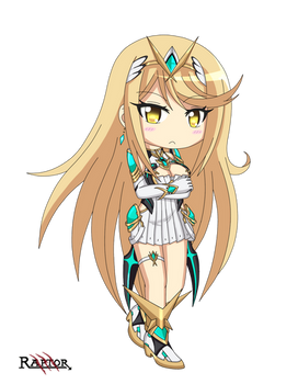 Mythra Chibi - Xenoblade chronicles 2