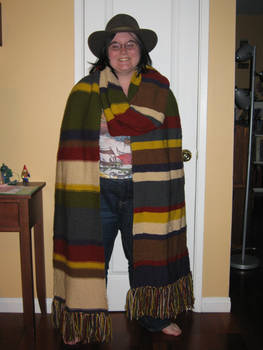 My Doctor Who Scarf
