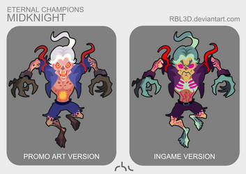 Eternal Champions ''Midknight'' 2 vers. by rbl3d