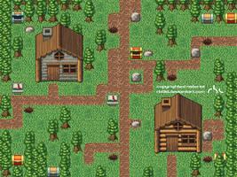 2d RPG Tileset by rbl3d