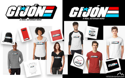 G.I. JON A Real Asturian Hero logo design