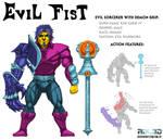 Evil Fist Motu fan character Bio by rbl3d