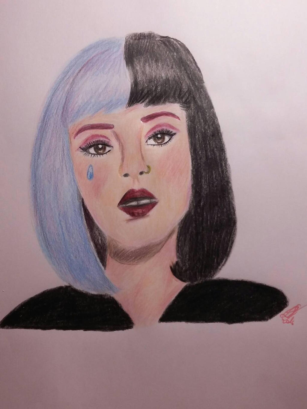 Melanie Martinez Cry Baby Drawing By Larischannelarts Melanie Martinez Cry  Baby Drawing By Larischannelarts