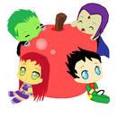 Apple Chibi Titans