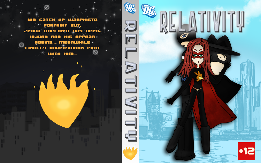 Contest - Comic Cover -Full- by Kawaii-Nekochara
