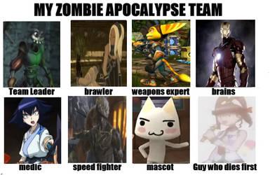 My Zombie Apocalypse Team - Team Mystic Domains