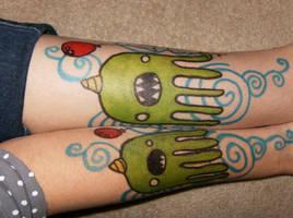 octo sharpie tattoo :D by emilystarr