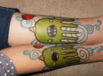 octo sharpie tattoo :D