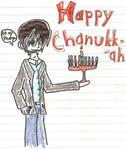 Happy Chanukkah by Spasm101