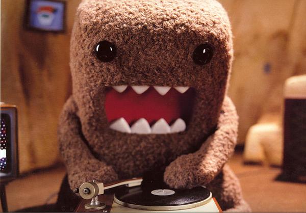 DJ Domo-kun by Spasm101