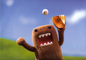 Domo's Out For A Ball Game by Spasm101