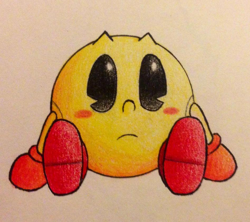 Pac-man Chan by Shameless-Skylo