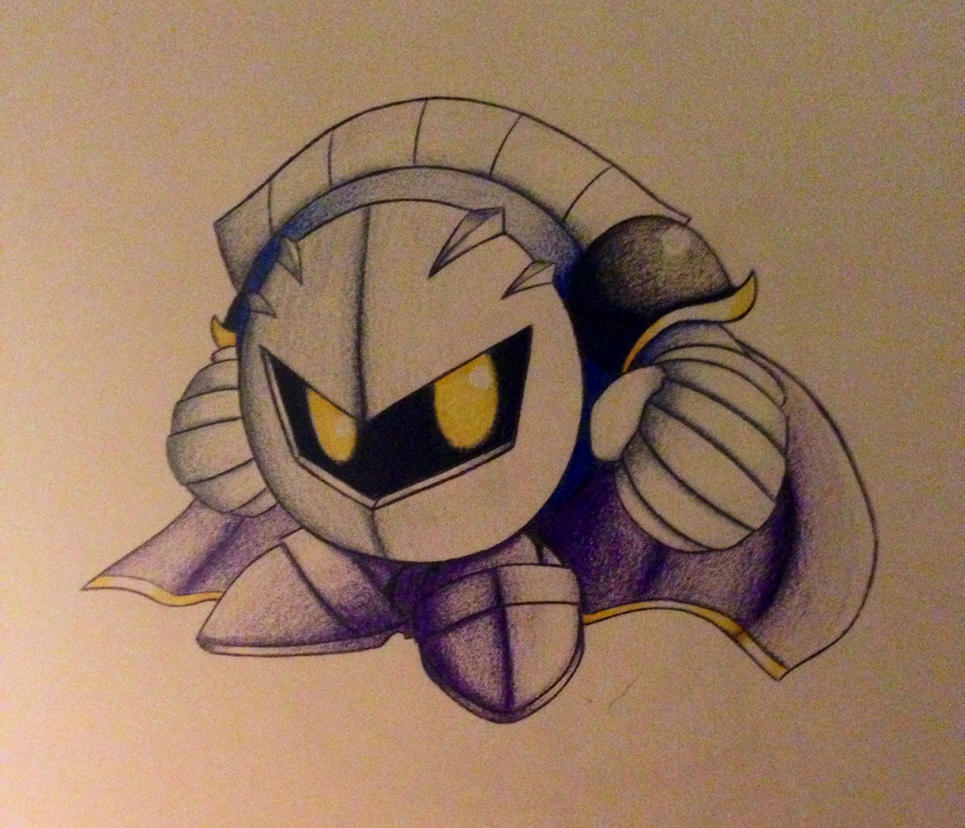 Meta Knight by Shameless-Skylo
