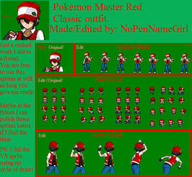 *Request* Classic Pokemon Master Red.