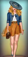 Carrie Bradshaw Chic by divachix