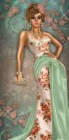 Vintage Floral by divachix